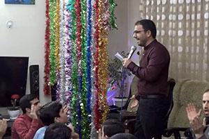 فیلم مراسم جشن شب ولادت امام حسین علیه السلام – ۹۸/۰۱/۱۹